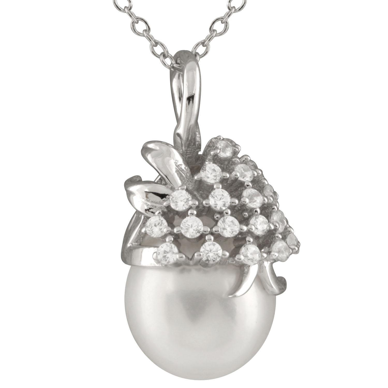New silver pendant